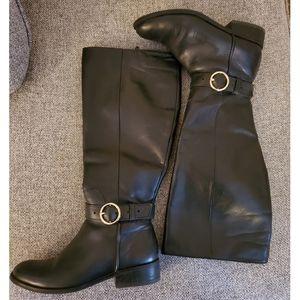 Aldo Riding Boots in Black